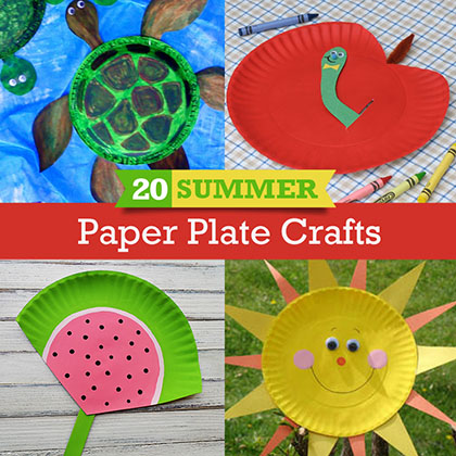 Crafts Made With Paper Plates Craftswithkg